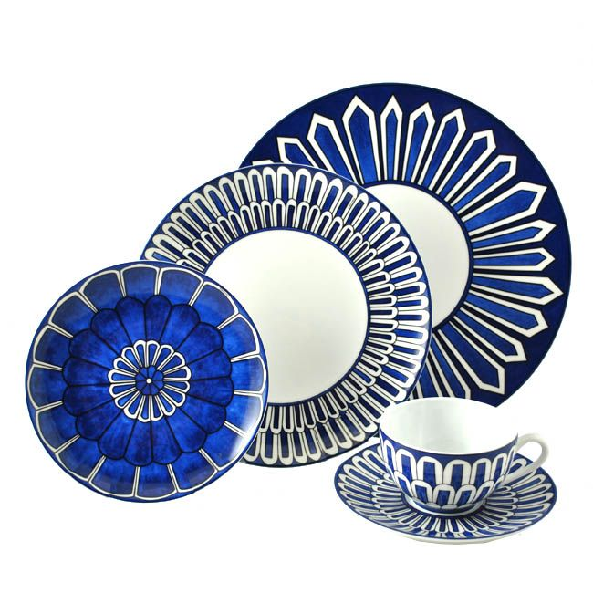 New from Hermes Bleus du0027Ailleurs is a modern take on the classic combination of cobalt and white. This pattern is inspired by the color combination through ...  sc 1 st  Pinterest & 11 best Color Story - Cobalt u0026 White images on Pinterest | Dish sets ...