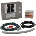 30-Amp Generator Transfer Switch Kit for 10-16 Circuits for Indoor Applications