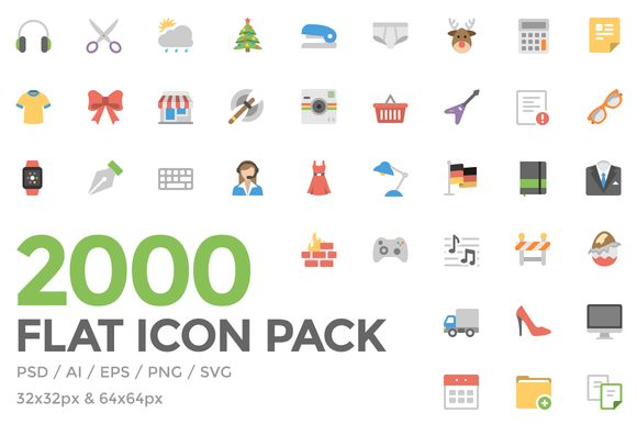 Squid Ink Flat Icon Pack by Web Icon Set on Creative Market