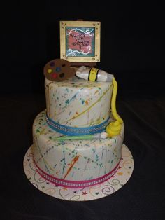 birthday cake for artist - Google Search
