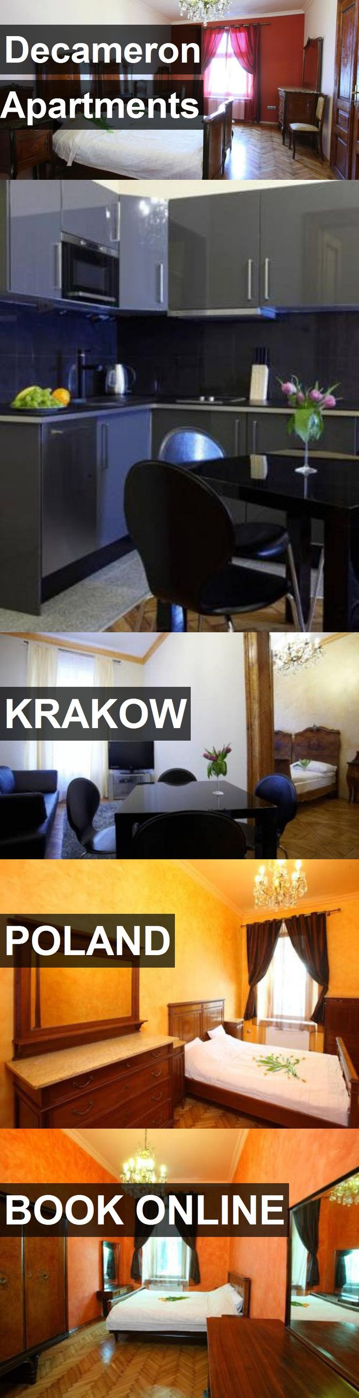 Decameron Apartments in Krakow, Poland. For more information, photos, reviews and best prices please follow the link. #Poland #Krakow #travel #vacation #apartment