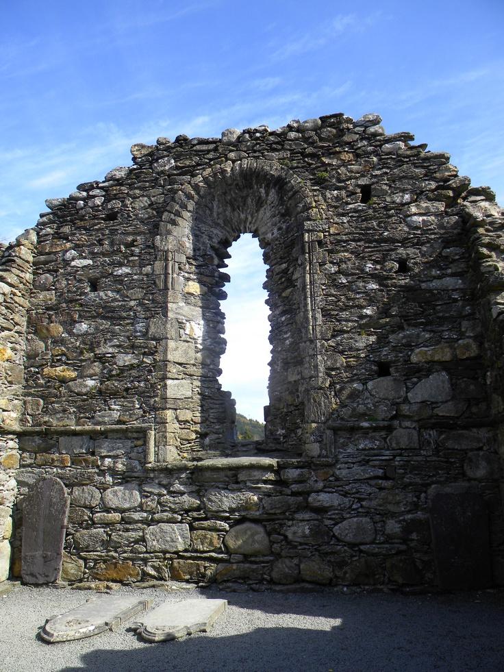 Glendalough Monastic Settlement outside of Dublin, Ireland. #ireland #dublin #glendalough #irish #monastery