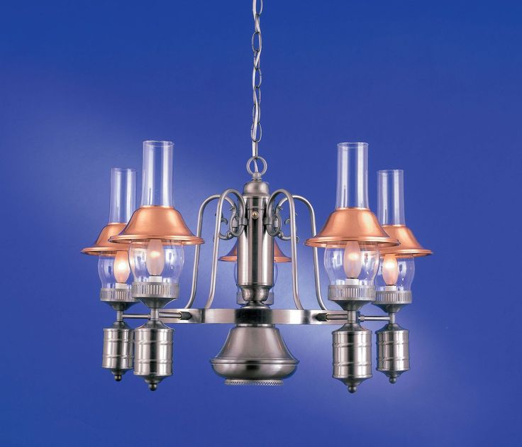 6-Light Country Chandelier