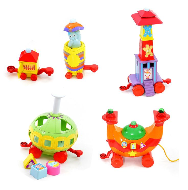In The Night Garden Ninky Nonk Musical Activity Train 78cms: Amazon.co.uk: Toys & Games
