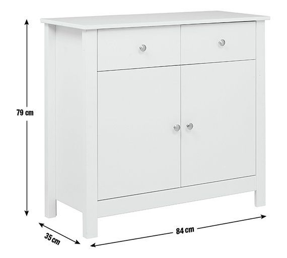 Buy Collection Osaka 2 Door 2 Drawer Sideboard - White at Argos.co.uk, visit Argos.co.uk to shop online for Sideboards and dressers, Living room furniture, Home and garden