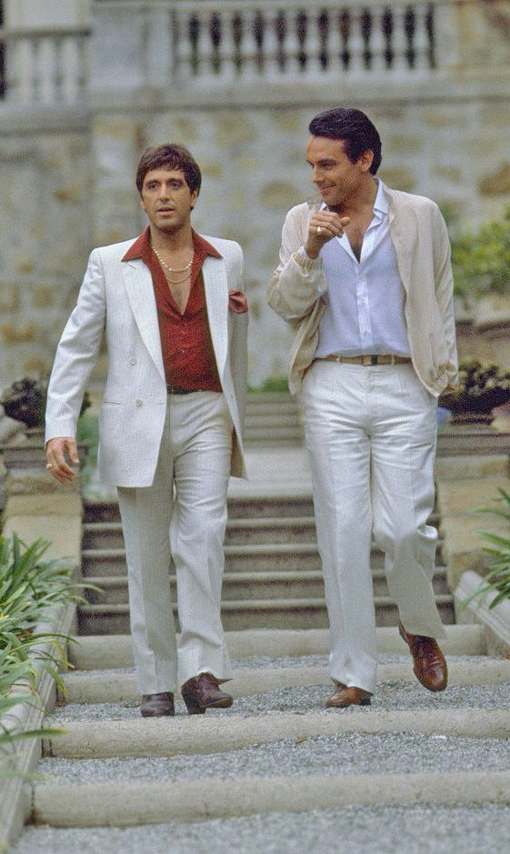 Al Pacino and Paul Shenar, Scarface (1983)