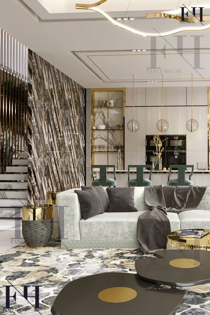 Open Concept Interiors For A Modern Palace In Light Brown Gold Colors The Interior Design Co Luxury Living Room Luxury Interior Luxury House Interior Design