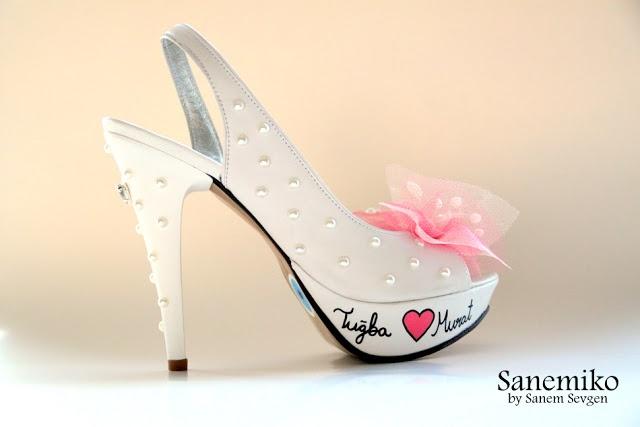Wedding shoes http://sanemikoshop.blogspot.com/