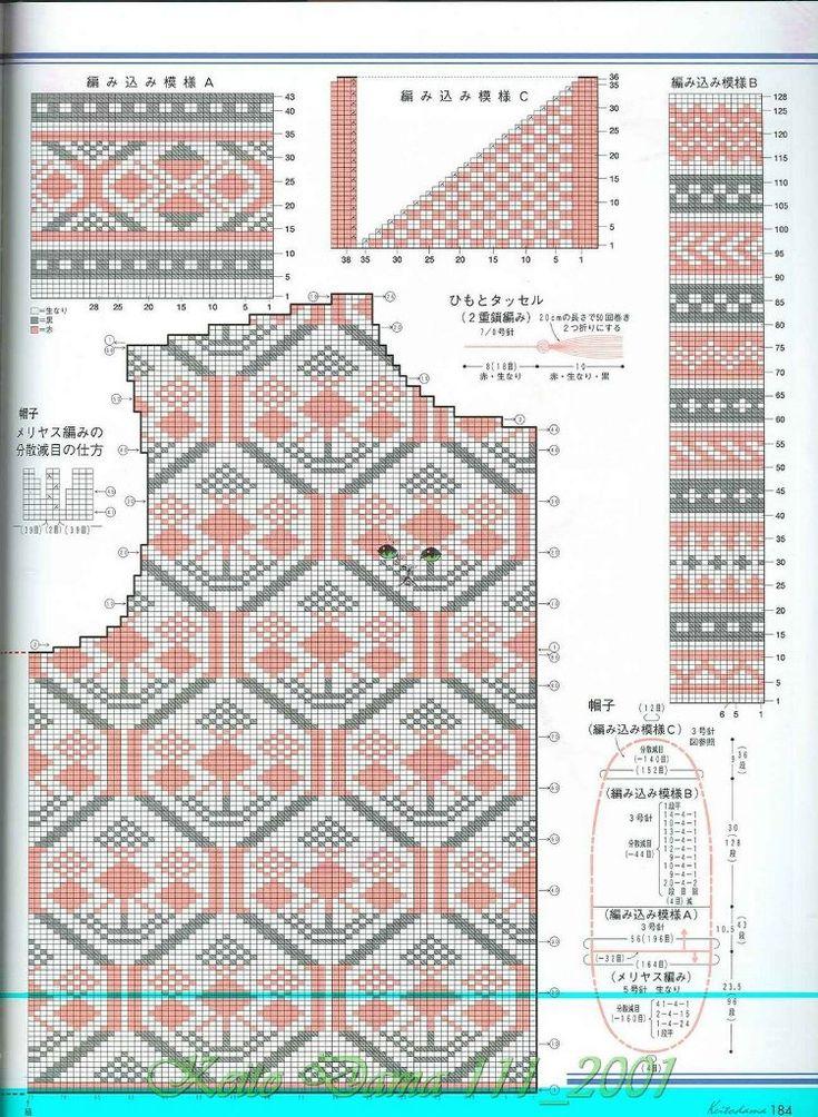 390 best knitting images on Pinterest | Knitting patterns ...