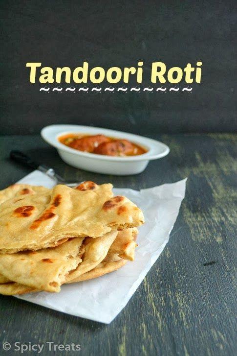 Spicy Treats: Tandoori Roti / Tandoori Roti Recipe In oven / Baked Tandoori Roti