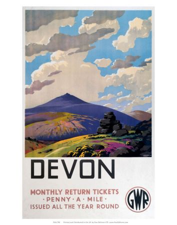 I love these old GWR prints