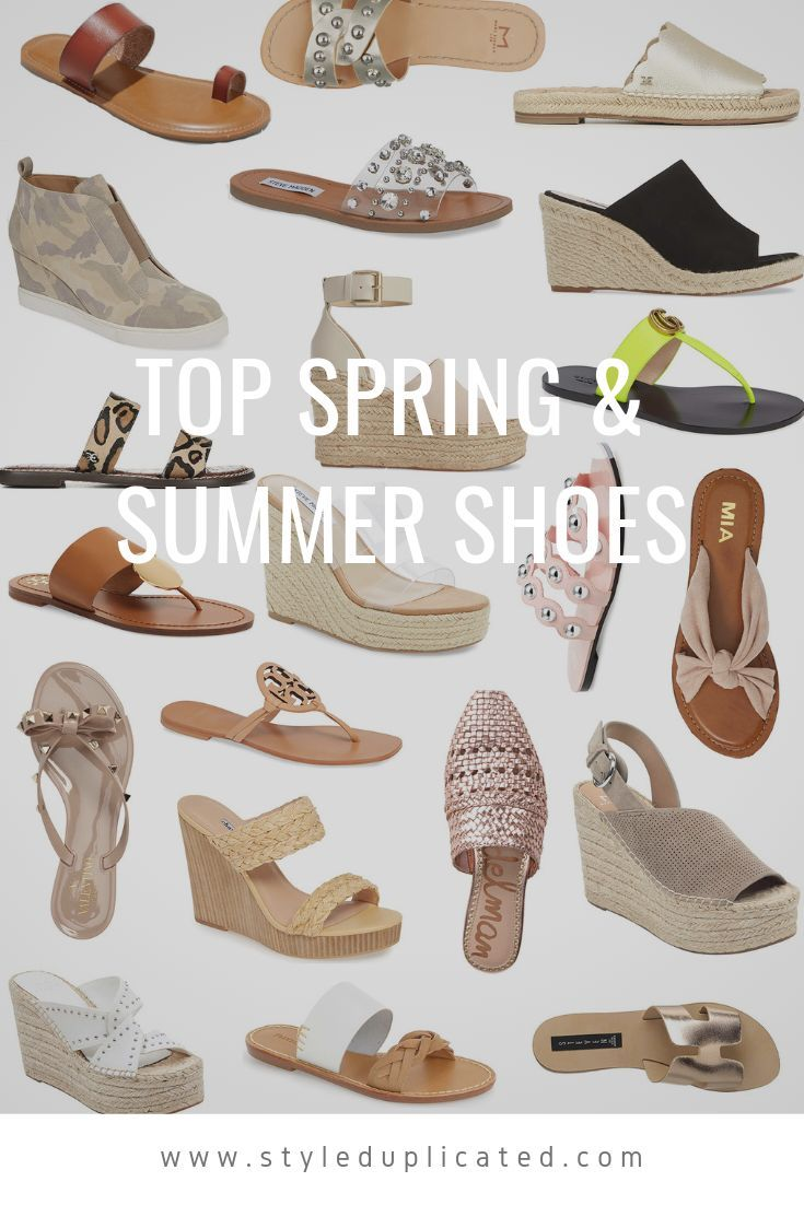 Spring Shoes | Summer shoes, Womens summer shoes, Spring shoes