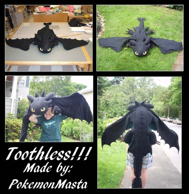 A Toothless Plushie!!!!