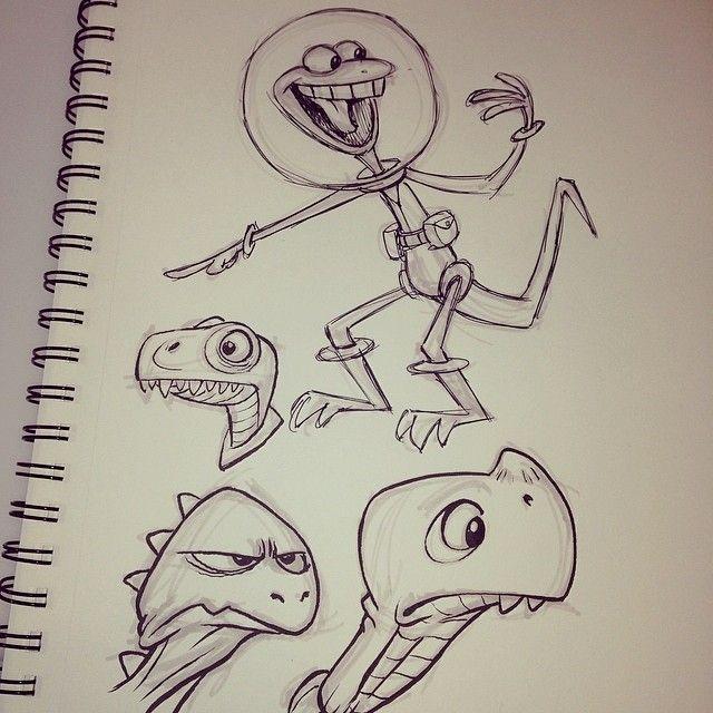 #breaksketch #lizardmen #aliens #cartoons