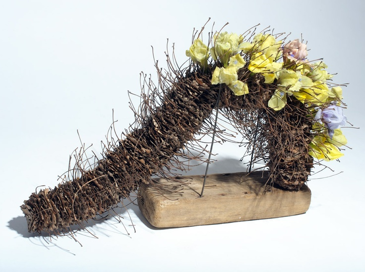 """The book """"Floral experiments"""" (2012)."""
