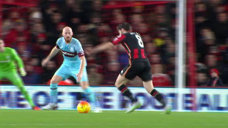 Harry Arter goes one way, defenders go the other... #GoalOfTheDay