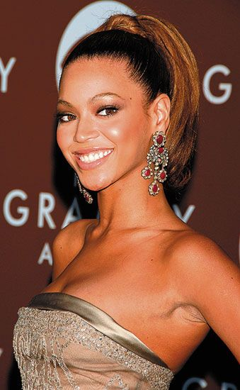Bottom Ponytail Of Beyonce Hairstyles Hairstyle Hair