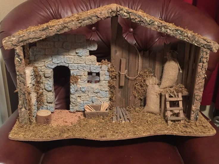 This is the larger Creche that LLADRÓ makes. Comes with original box. This was made for the large LLADRÓ Nativity Set 5400 Series. Very Hard To Find ! | eBay!