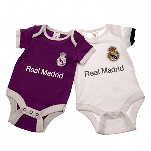 Oficial REAL MADRID Bodies para bebé - 2 Pack - Temporada... https://www.amazon.es/dp/B01M1GS1E4/ref=cm_sw_r_pi_dp_x_xaN8xbZVHZ7EF