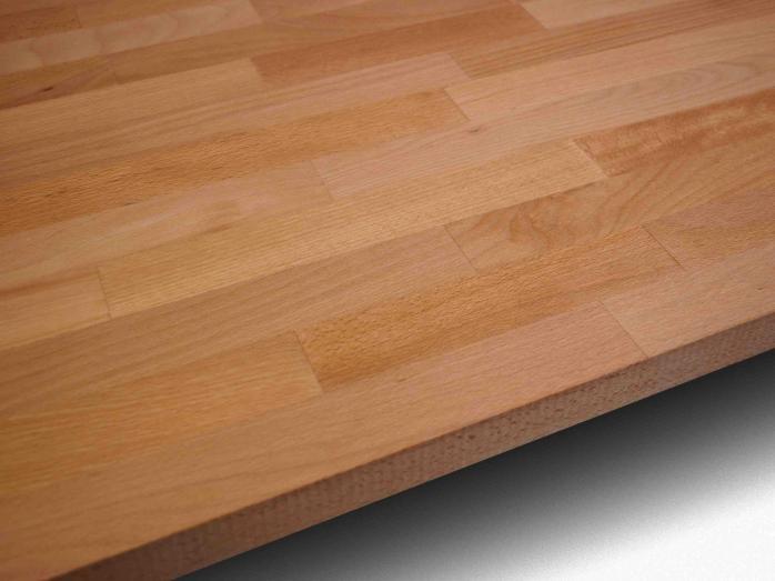 Solid Wood Kitchen Worktop - Beech