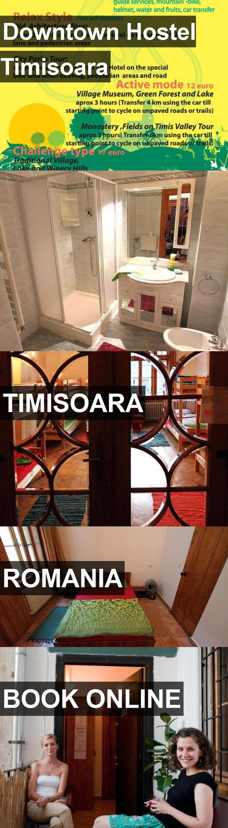 Hotel Downtown Hostel Timisoara in Timisoara, Romania. For more information, photos, reviews and best prices please follow the link. #Romania #Timisoara #DowntownHostelTimisoara #hotel #travel #vacation