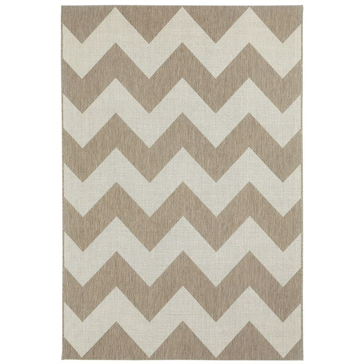 Capel Rugs Elsinore Chevron Wheat Olefin Rug Zinc Door Chevron