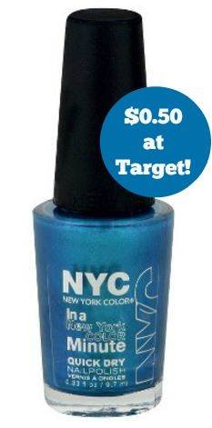Target: NYC Cosmetics Only $0.50!