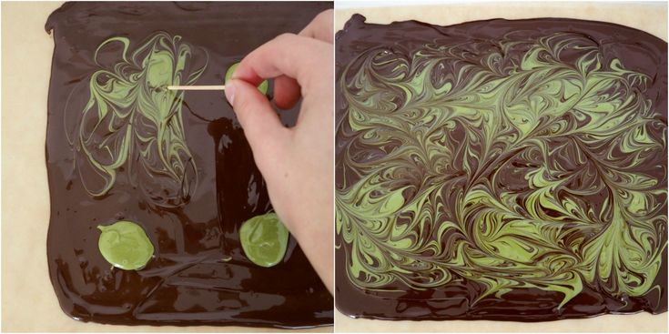 Chokoladebrud med matcha