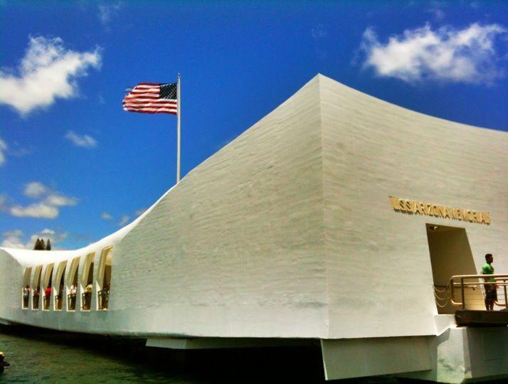 USS Arizona Memorial in Honolulu, HI
