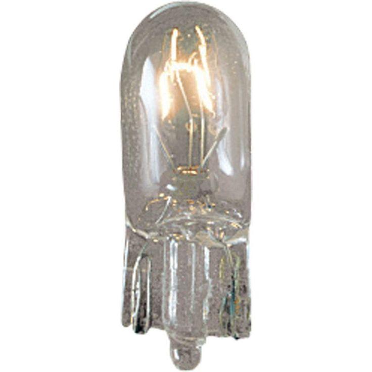 Progress Lighting P7801 12V 18W Wedge Base T5 Replacement Bulb for Landscape Lig Bulbs Bulbs Xenon / Krypton