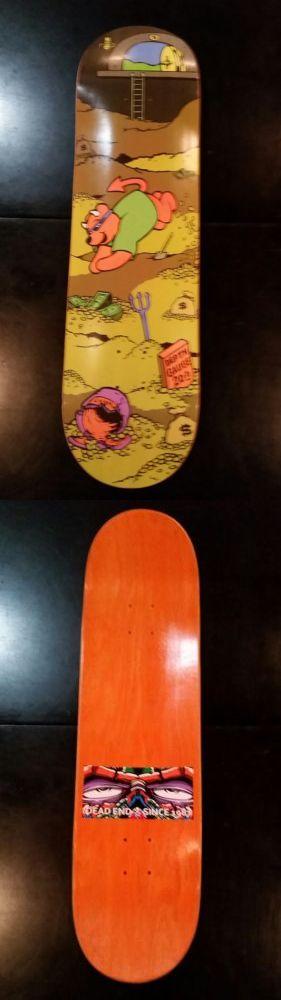Decks 16263: New 1990 Steve Rocco Tribute Dead End Shop Deck Skateboard World Industries -> BUY IT NOW ONLY: $124.99 on eBay!