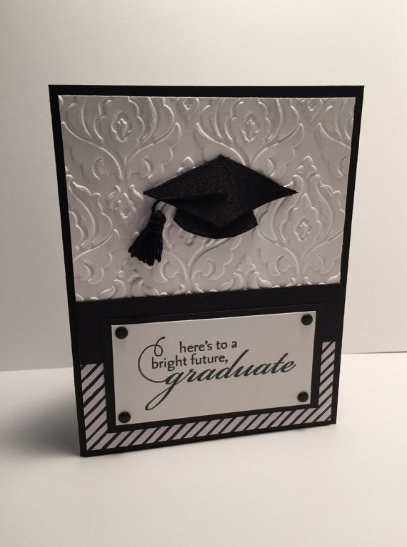 Stampin Up Graduation Card by BettysCardCreations on Etsy