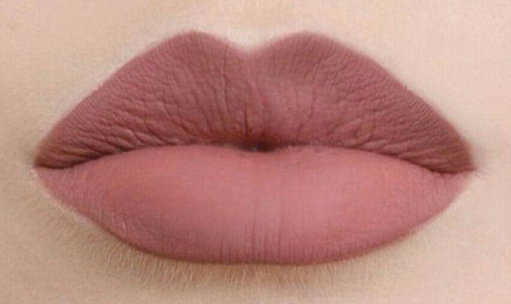 Nude brownish-pink matte lipstick   Hair and beauty   Pinterest ...