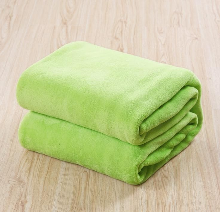 solid fleece blankets for beds size 150*200 180*200 200*230 220*240