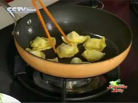 Китайская Кухня - Жареная курица с двойным вкусом - YouTube