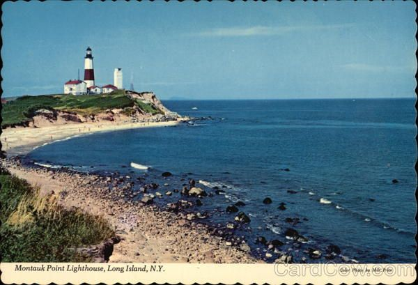 Montauk Point Lighthouse Long Island New York http://www.cardcow.com
