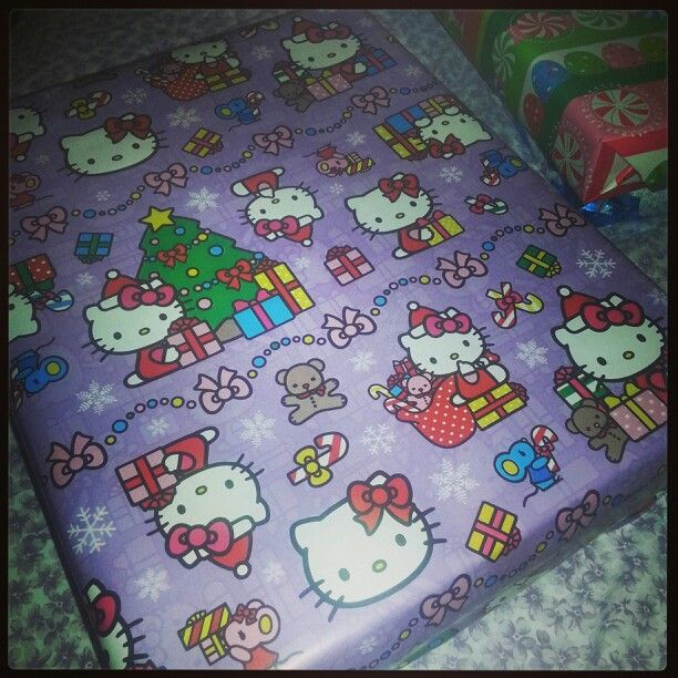 Hello Kitty Christmas Wrapping Paper Hello Kitty