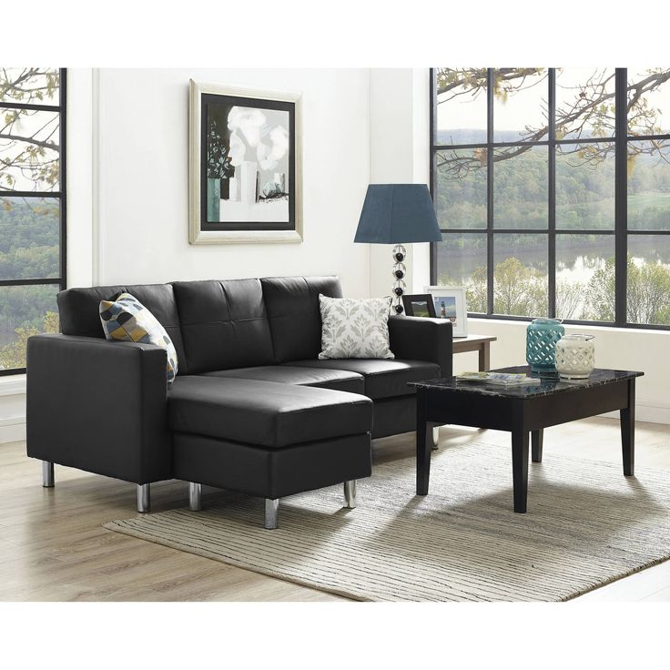 Reclining Sofa Dorel Living Small Spaces Configurable Sectional Sofa Multiple Colors Walmart