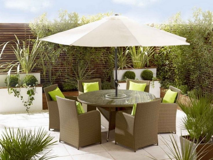 Outdoor Patio Dining Sets With Patio Furniture Umbrella
