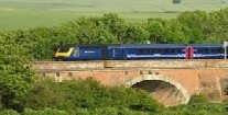 We took the First Great Western train to get from London to Bath in a short period of time.