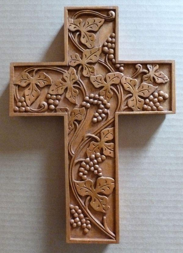 Best carving crosseschrist images on pinterest wood