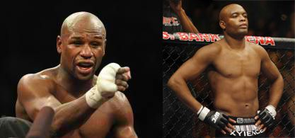 "Anderson ""The Spider"" Silva was clear on his joke that he was disrespecting the undefeated Floyd Mayweather Jr.  ""Who is this guy? Mayweather what?"" Silva said this when answering a question from Sway Calloway .   This guy is, uh, Smurfy? Is he a Smurf?"" Silva continued with another joke. ""I don't know this guy,"""