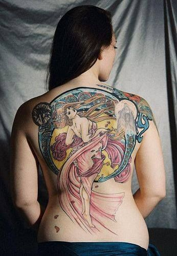 314 best mucha art nouveau tattoos images on pinterest art nouveau tattoo tattoo inspiration. Black Bedroom Furniture Sets. Home Design Ideas