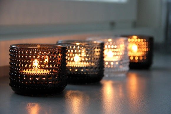 Koti 3:lle: #Kastehelmi #Iittala Candle Light
