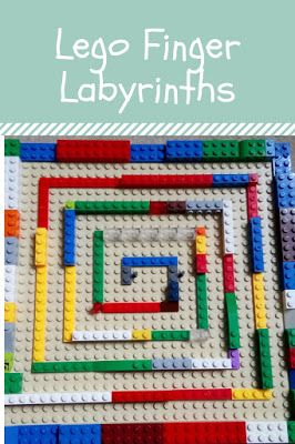 Flame: Creative Children's Ministry: Lego Finger Labyrinths (Build Your Own!)