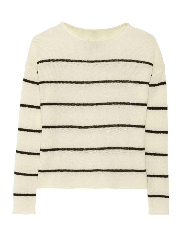 Line - Stride Striped Cashmere Sweater