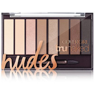 CoverGirl Nudes TruNaked Eye Shadow Palette Nudes