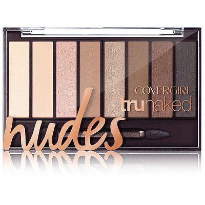 CoverGirl Nudes TruNaked Eyeshadow Palette Nudes Janelle Monae Oscars 2017