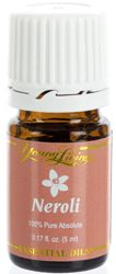 For anxiety/panic...Neroli (Citrus aurantium) has a citrusy, floral scent. ut in a capsule and take up to three times daily or as needed. Topical: Apply 2–4 drops directly to desired area. Dilution not required except for the most sensitive skin. Aromatic: Diffuse up to one hour three times daily. Produced from the blossom of the bitter orange tree- wiki. https://www.youngliving.org/jcbolton