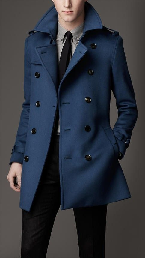 Burberry for men. Not sure of color...navy, black or brown I think